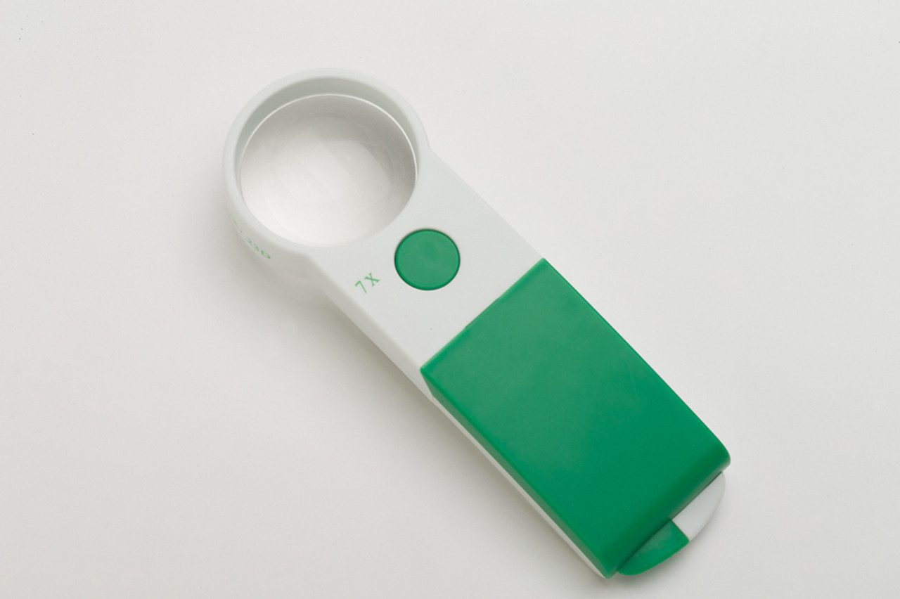 Extra Bright Handheld Magnifier 7X/50mm