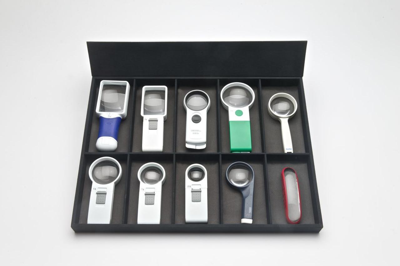 Custom Handheld Magnifier Tray