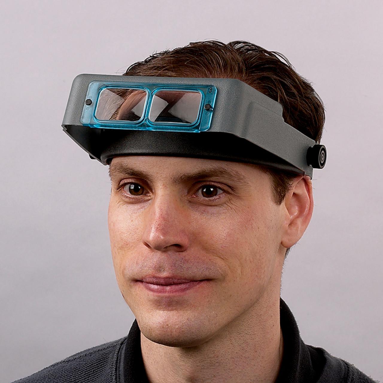 2.5x OptiVISOR Headset Magnifier