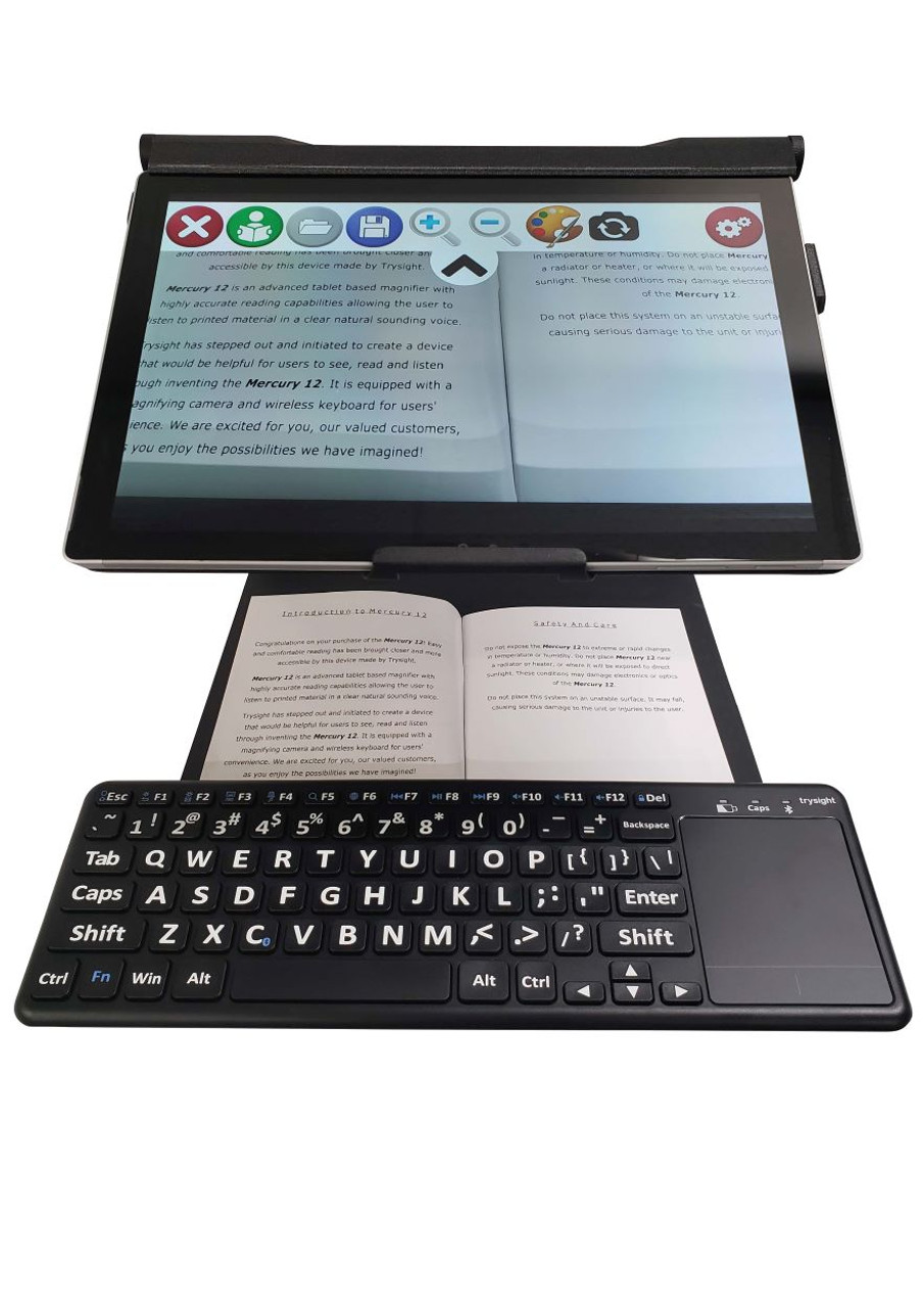 Mercury 12 Laptop Magnifier and OCR reader