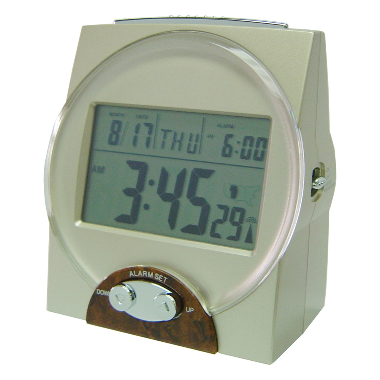 Talking Radio Controlled Atomic Clock