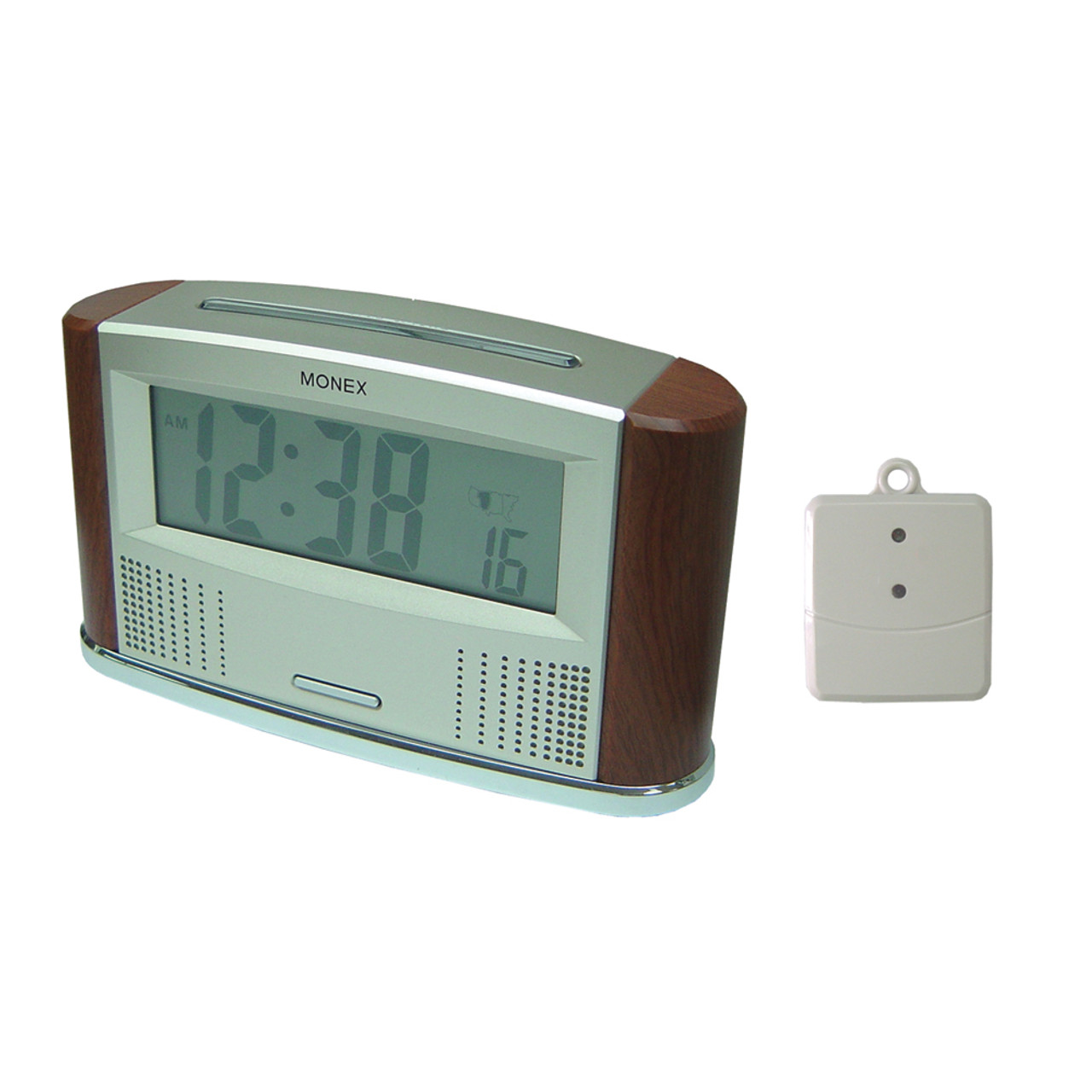 Talking Atomic Clock with Outdoor Temperature