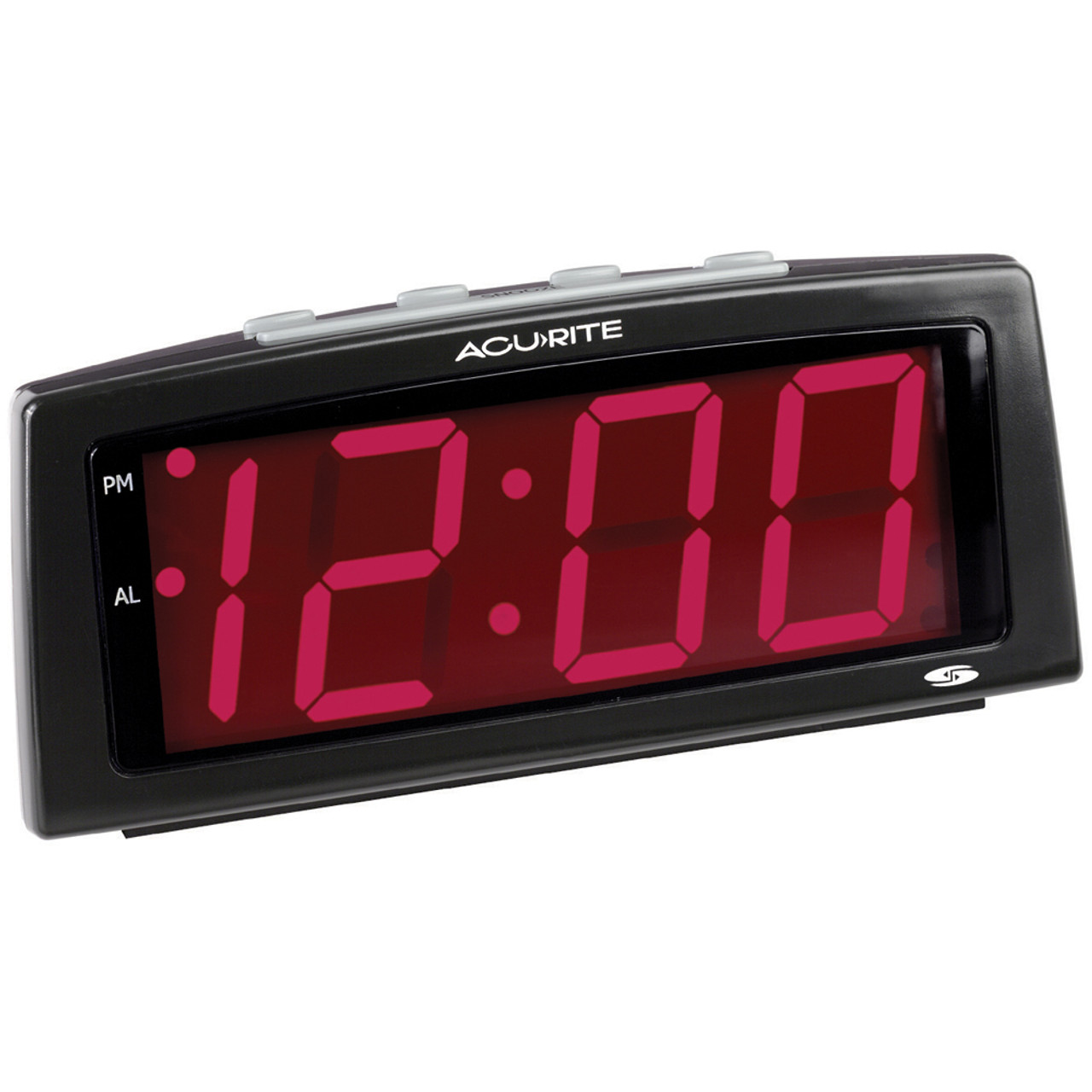 2 inch Red Digits LED Alarm Clock