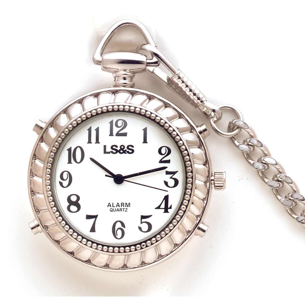 Silver Color Talking Handheld Watch