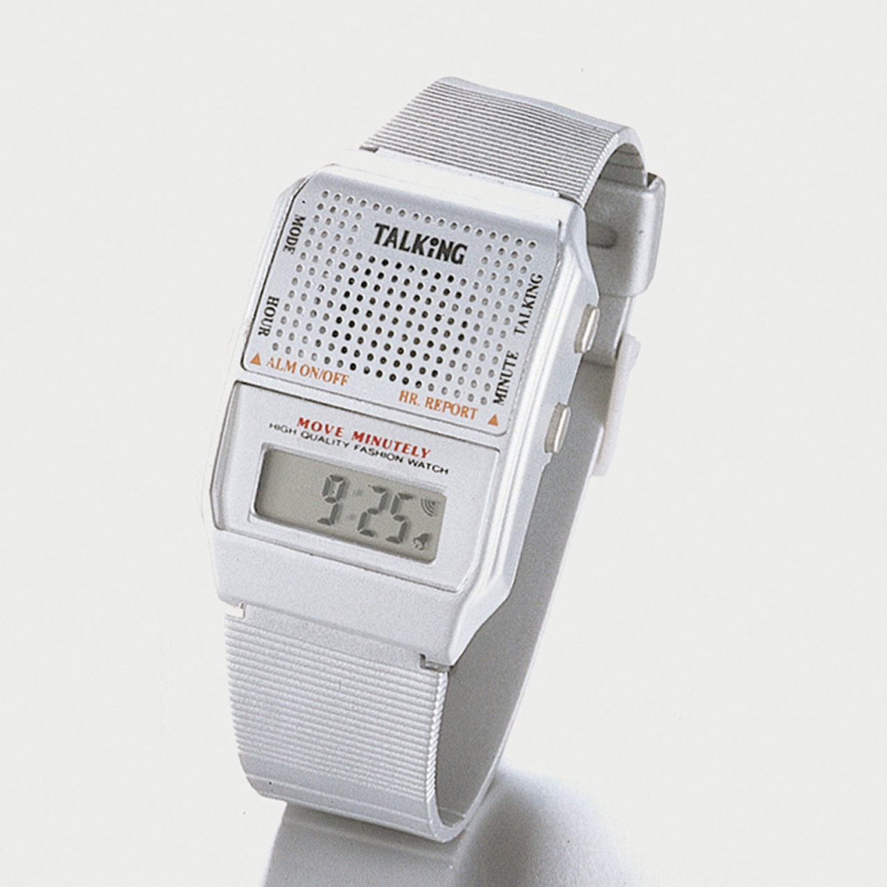 Silver Talking Watch
