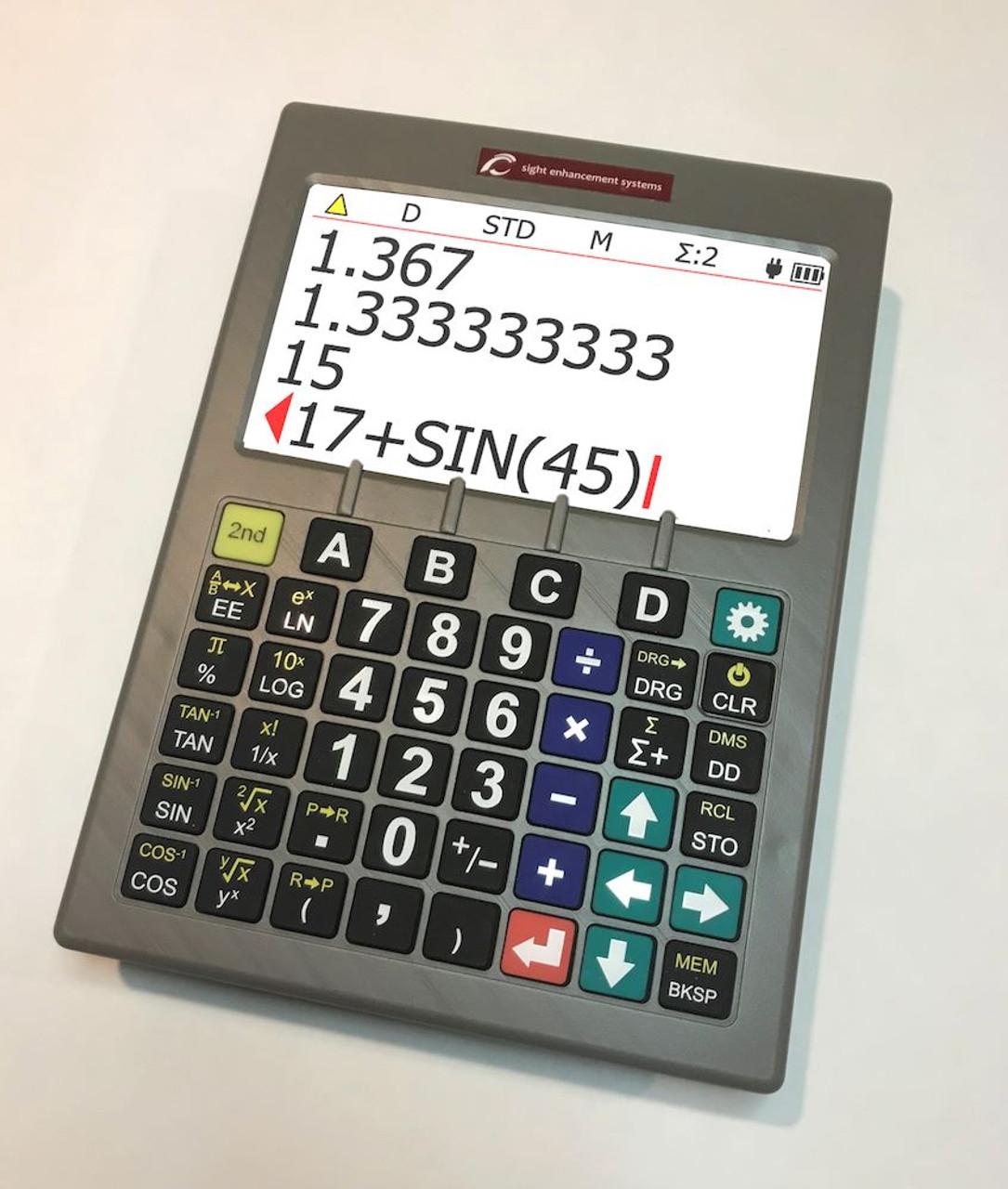 SciPlus 3200 Low Vision Scientific Calculator
