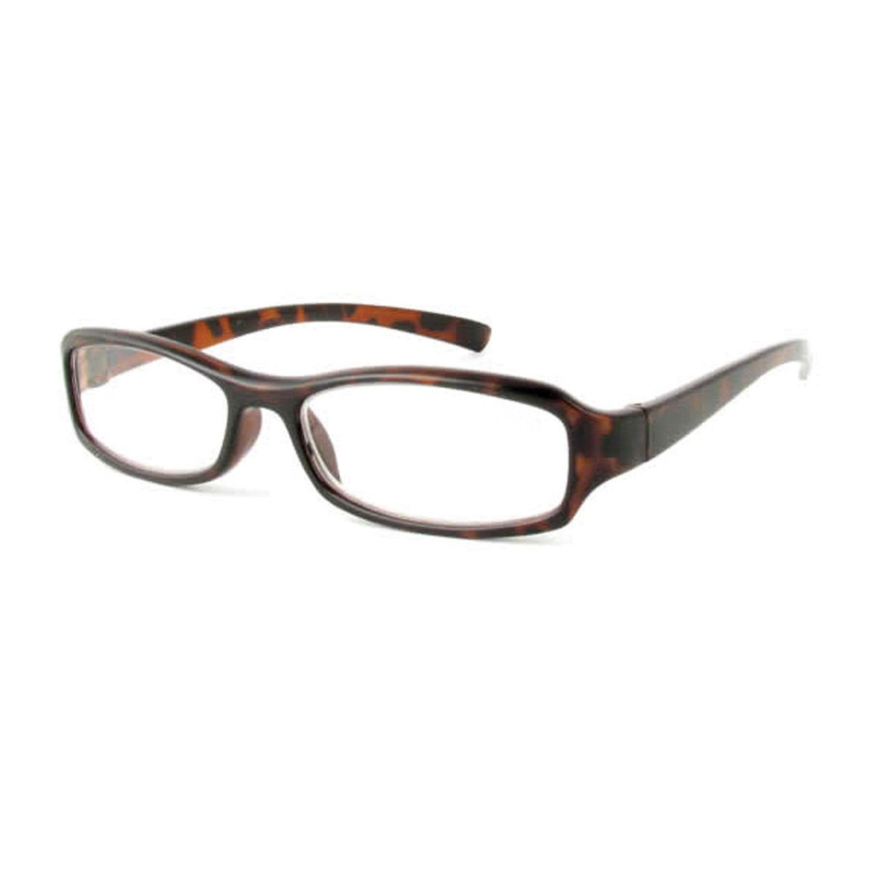 Classic Unisex Reading Glasses, Tortoise, +5