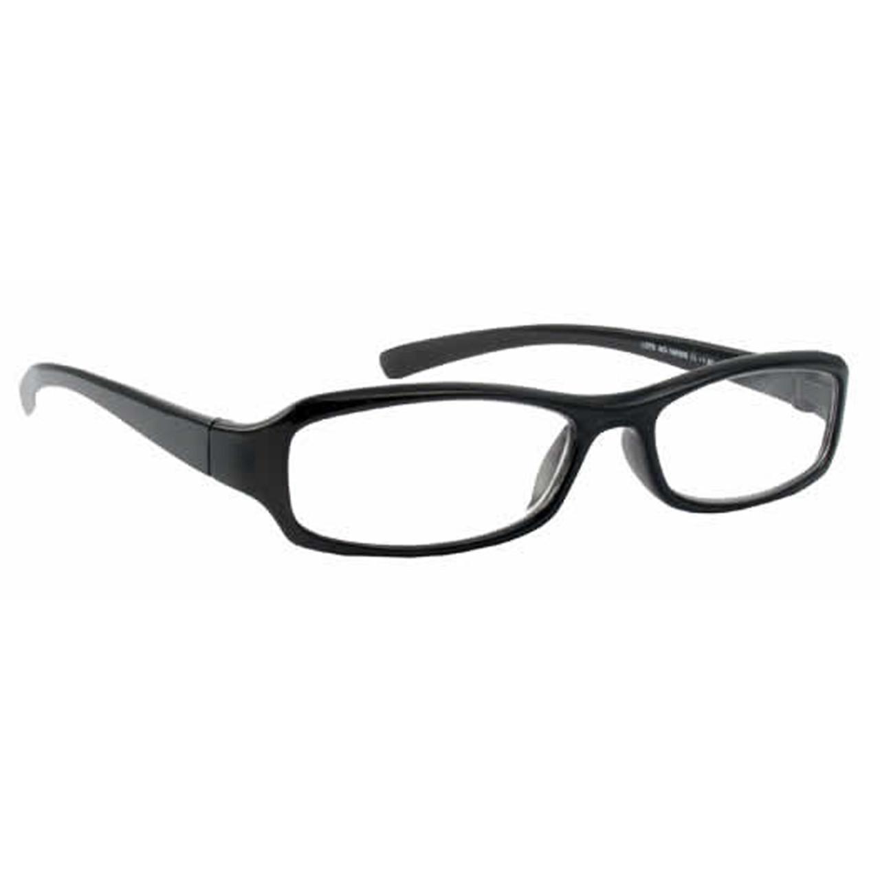 Classic Unisex Reading Glasses, Black, +5