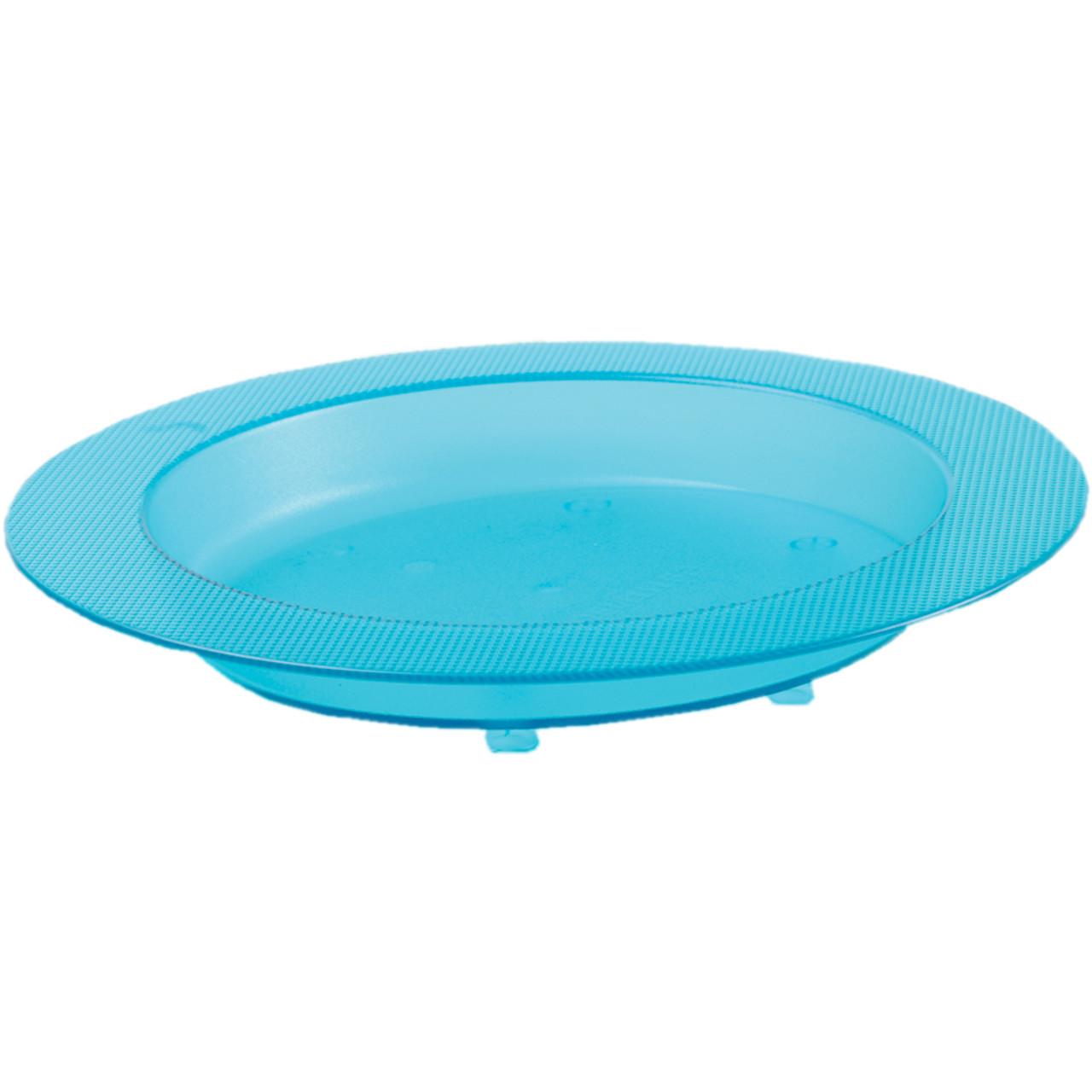 Blue Sloped Ergo Plate