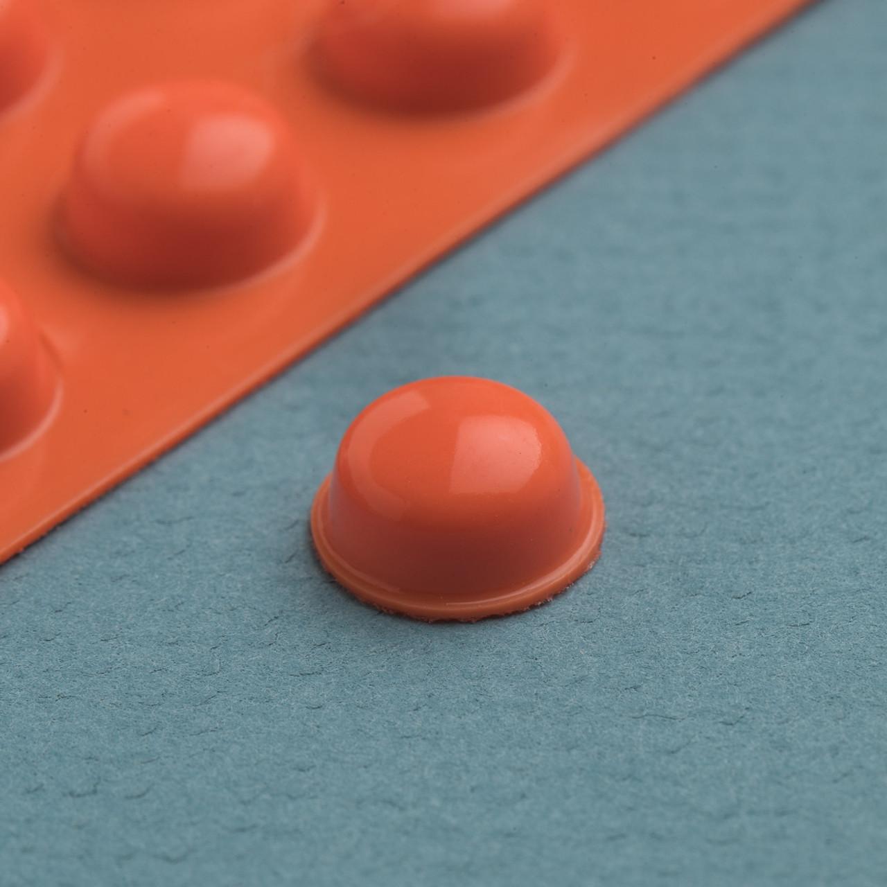 Bump Dot Orange, Round Large 25 per pack