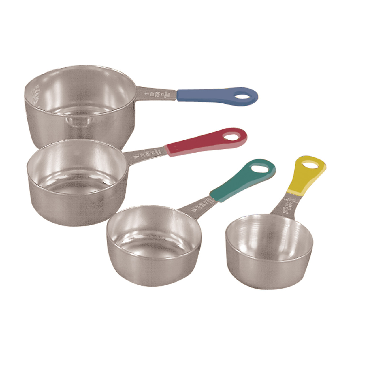 Bright Handled Measuring Cups