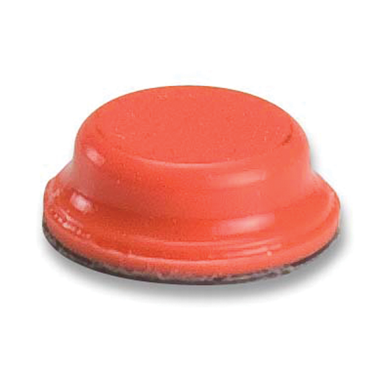 Bump Dot  Orange, Flat Top 25/Pack