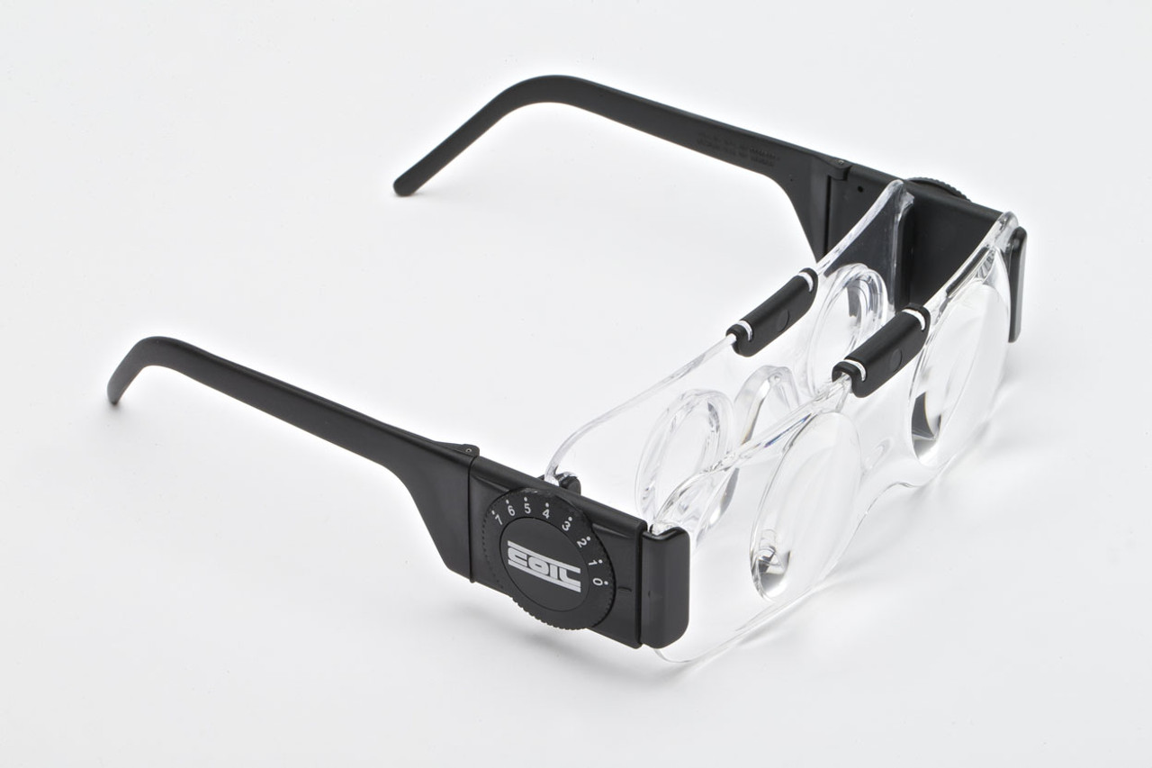 COIL Spectacle Binocular Clear (Far View) 2.0x