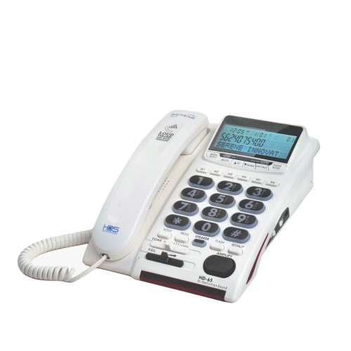 Serene HD-65 Amplified Telephone With Talking Caller ID