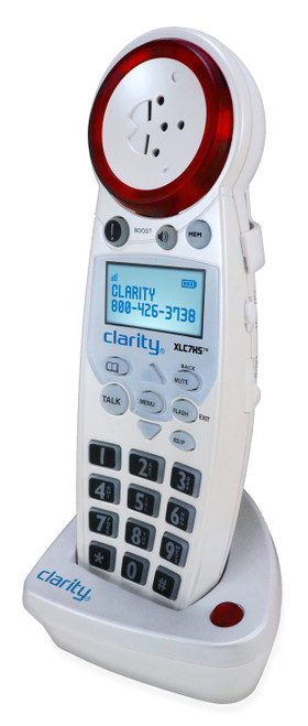Clarity Extra Loud DECT Phone with Bluetooth Add'l XLC7BT Handset
