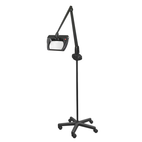 Dazor 5D LED Stretchview Magnifying Lamp on Casters