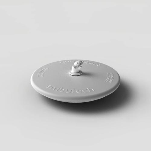 Ambutech Dakota Disk Hook Style Tip - White