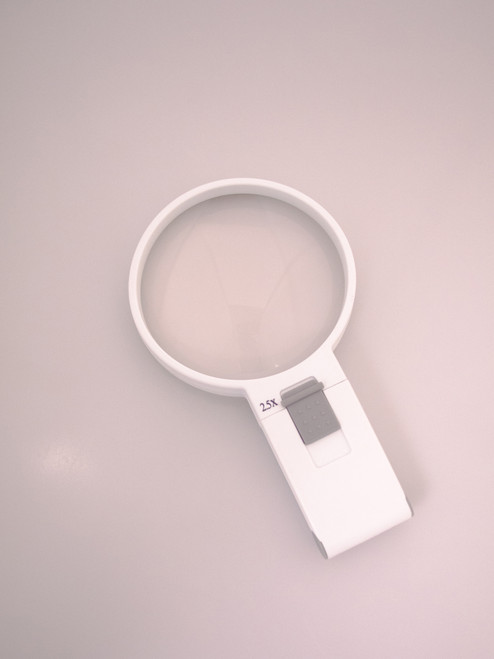 Handheld Magnifier 2.5X/6D LED 100mm