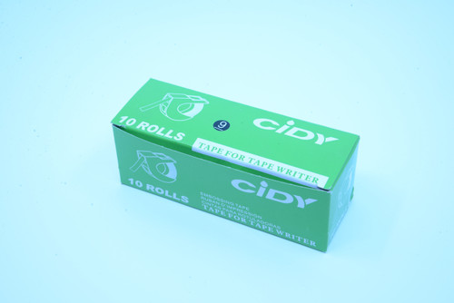 6Dot Printer Tape, 10 Pack