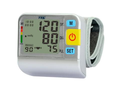 Talking Wrist Worn Blood Pressure Meter