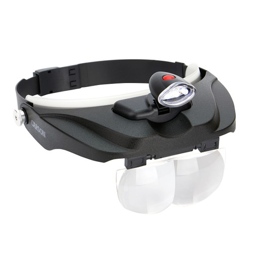 Magnifying Visor with Interchangeable Lenses