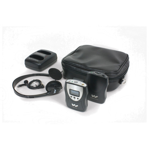 PFM PRO Personal FM System w/ Dual Drop in Charger