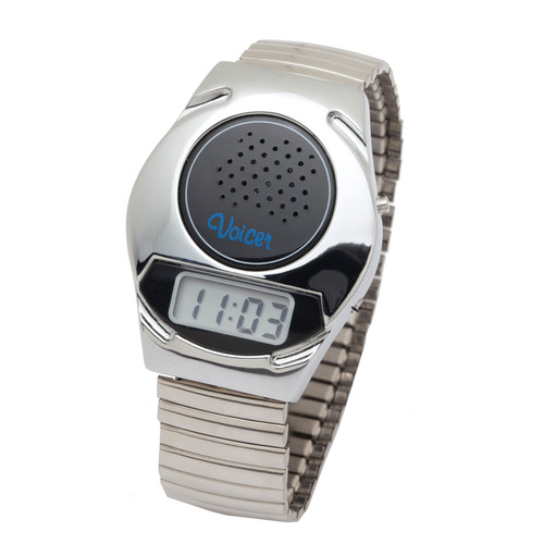 Silver Beauty Talking Watch