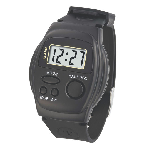 Front Button Talking Watch