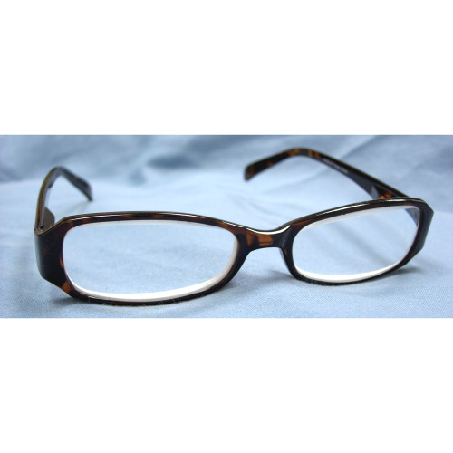 Classic Unisex Reading Glasses, Tortoise, +6 Diopters
