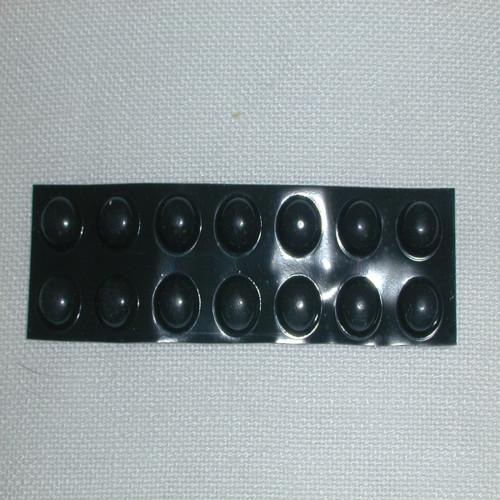 Bump-Ons - Black, Round Medium