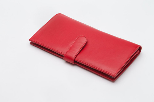 Money Organizer Wallet - Red