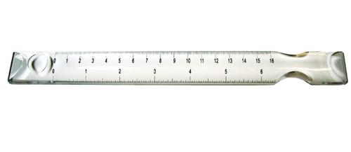 10 Bar Magnifier w/ 8 Ruler, 2X