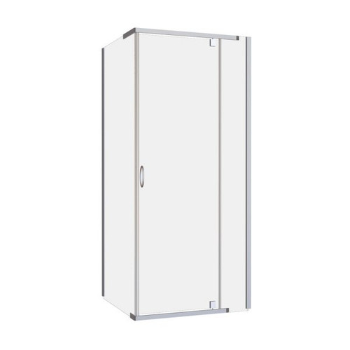 Cascade 900 Semi-Frameless Pivot Shower Screen [120497]