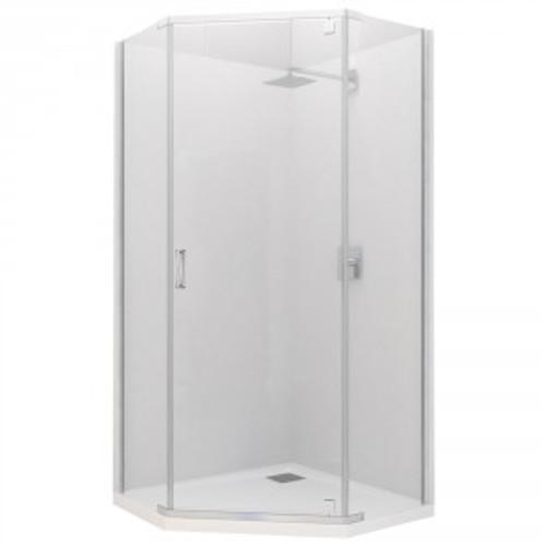 Trinidad Angled Shower System 1000X1000 [124065]