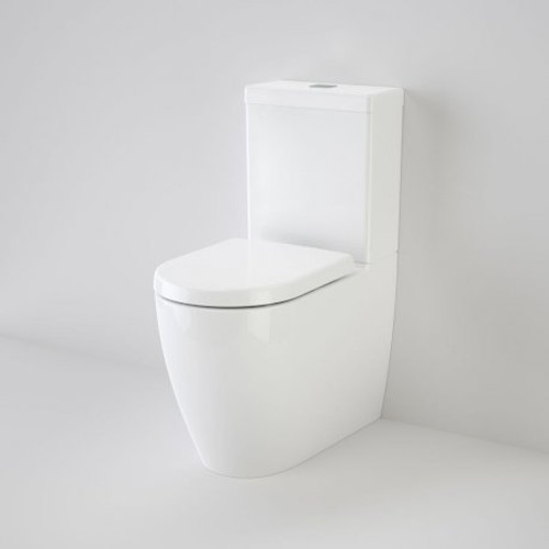 Urbane Wall Faced Toilet Suite - Back Entry, Soft Close Seat [133244]