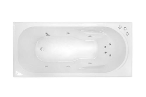 Prima 1650 Santai 10-Jet Spa Bath [126410]