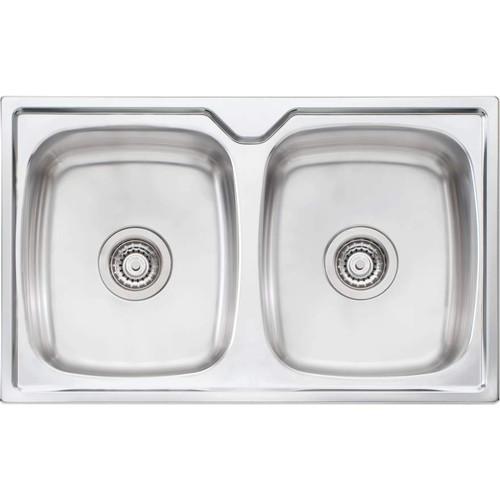 Endeavour Double Bowl Topmount Sink [157344]