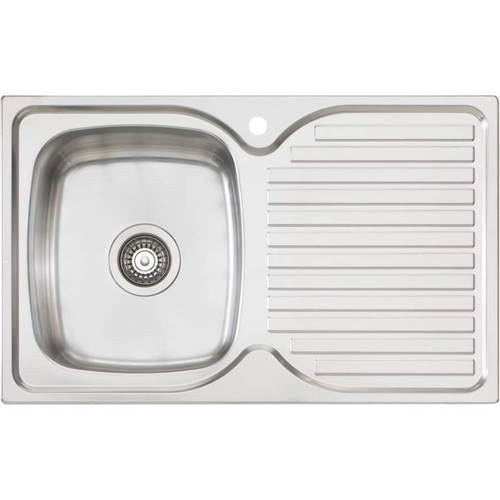 Endeavour Single Bowl Topmount Sink With Drainer [157347]
