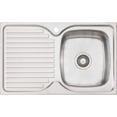 Endeavour Single Bowl Topmount Sink With Drainer [157348]
