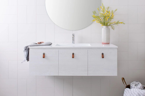 Summer 900 Trio Vanity With Offset Bowl [159569]