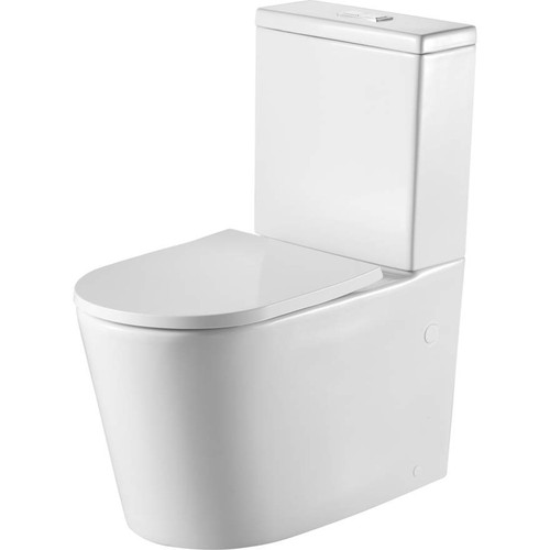 Vienna Back To Wall Toilet Suite [166265]