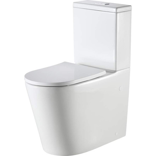 Vienna Comfort Height Back To Wall Toilet Suite [166266]