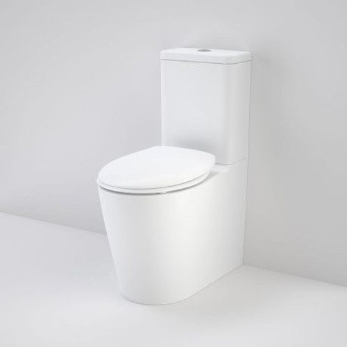 Care 660 Ambulant Cleanflush Easy Height Bi Suite With Double Flap Seat White [166484]