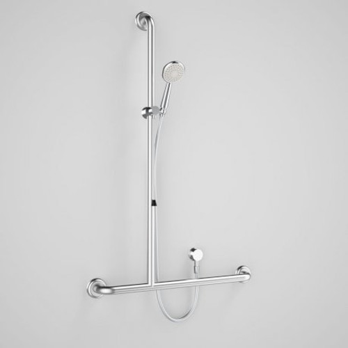 Caroma Plus Starsafe II Inverted T Accessible Shower Set - Right Hand [180075]