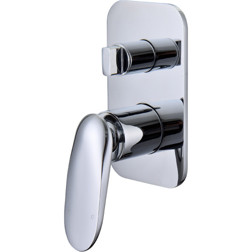 Slice Bath Or Shower Mixer With Divertor [167681]