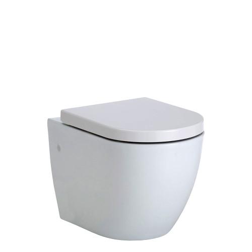 Koko Rimless Wall-Hung Pan + Seat Only [168942]