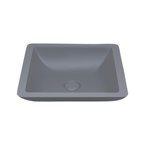Classique 420 Matte Grey Solid Surface Basin [190217]