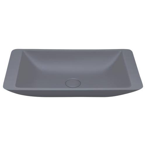 Classique 600 Matte Grey Solid Surface Basin [190220]