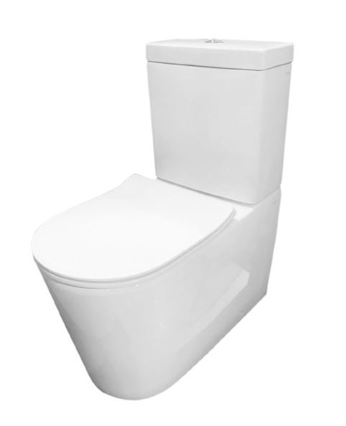 Rimless Back To Wall Edge Suite with Slim Seat [180058]