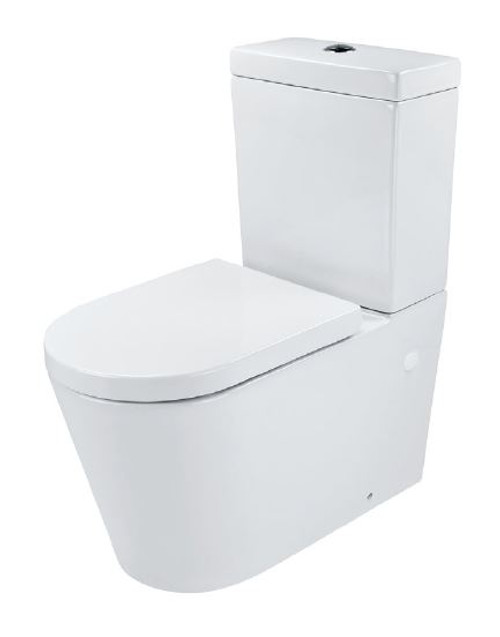 Rimless Back To Wall Edge Suite with Standard Seat [180056]